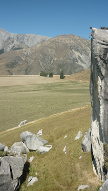 """Doug gets the best seat in the place """"Arthur's pass"""""""