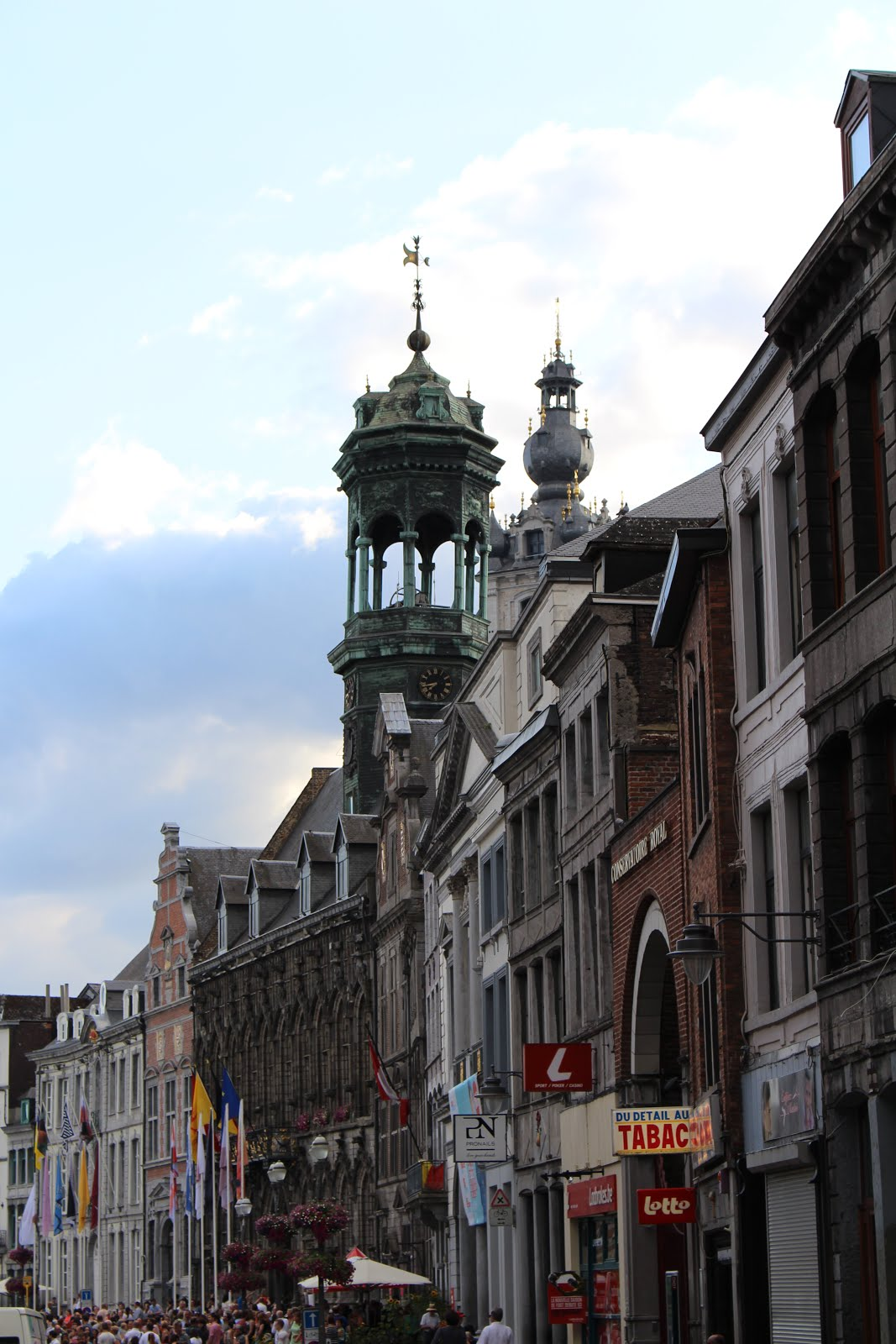 City Hall and Belfry in Mons