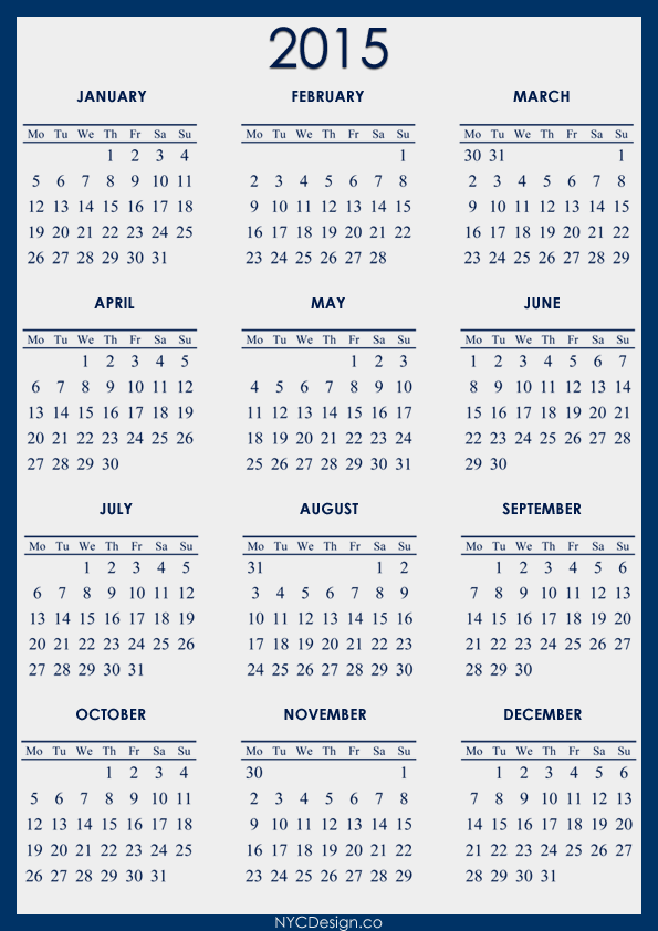 fiscal year calendar 2015 printable Car Tuning