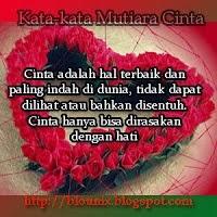Kata kata Mutiara Cinta Dalam Bahasa Indonesia