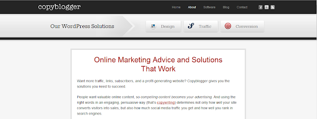 copyblogger 8 Top About Us Pages Online