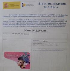 TÍTULO DE REGITRO DE MARCA