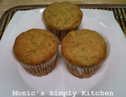 Banana Muffin sisa adonan Banana Bread