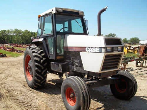 Case tractor salvage 2294