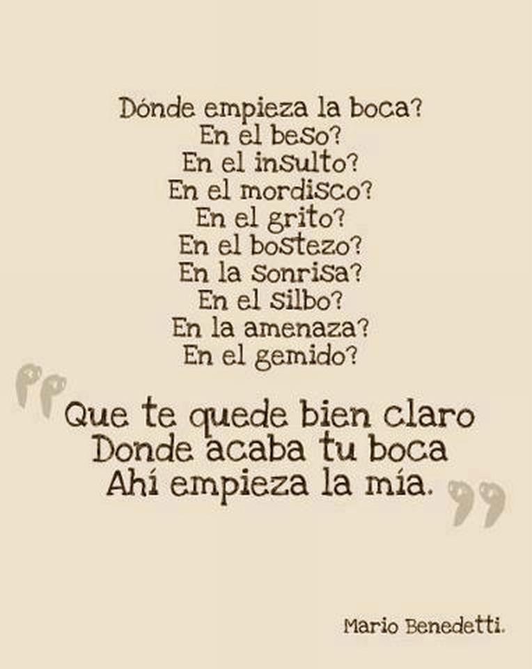 Frases cortas de mario benedetti - Literato.es