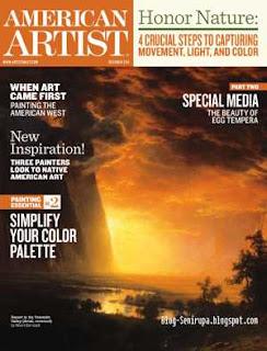 American Artist Magazine October 2011