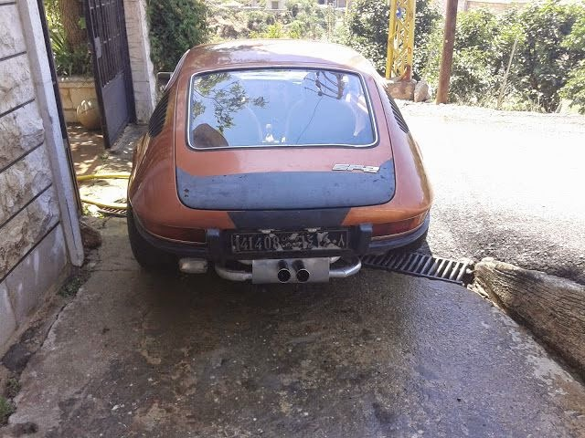 Volkswagen SP2 encontrado no Líbano 03