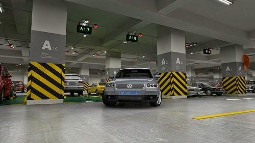 Bãi đỗ xe có sức chứa lên tới hơn 1000 xe