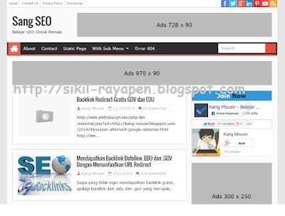 Sang SEO - Responsive Blogger Template