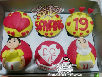 Cupcake Birthday Romantic