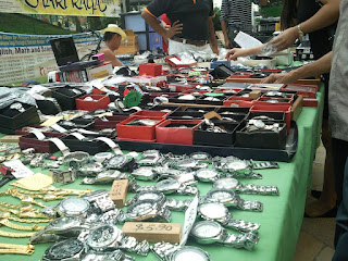Flea Market in Singapore Neighbourhood