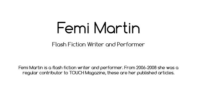 Femi Martin: Journalism Portfolio