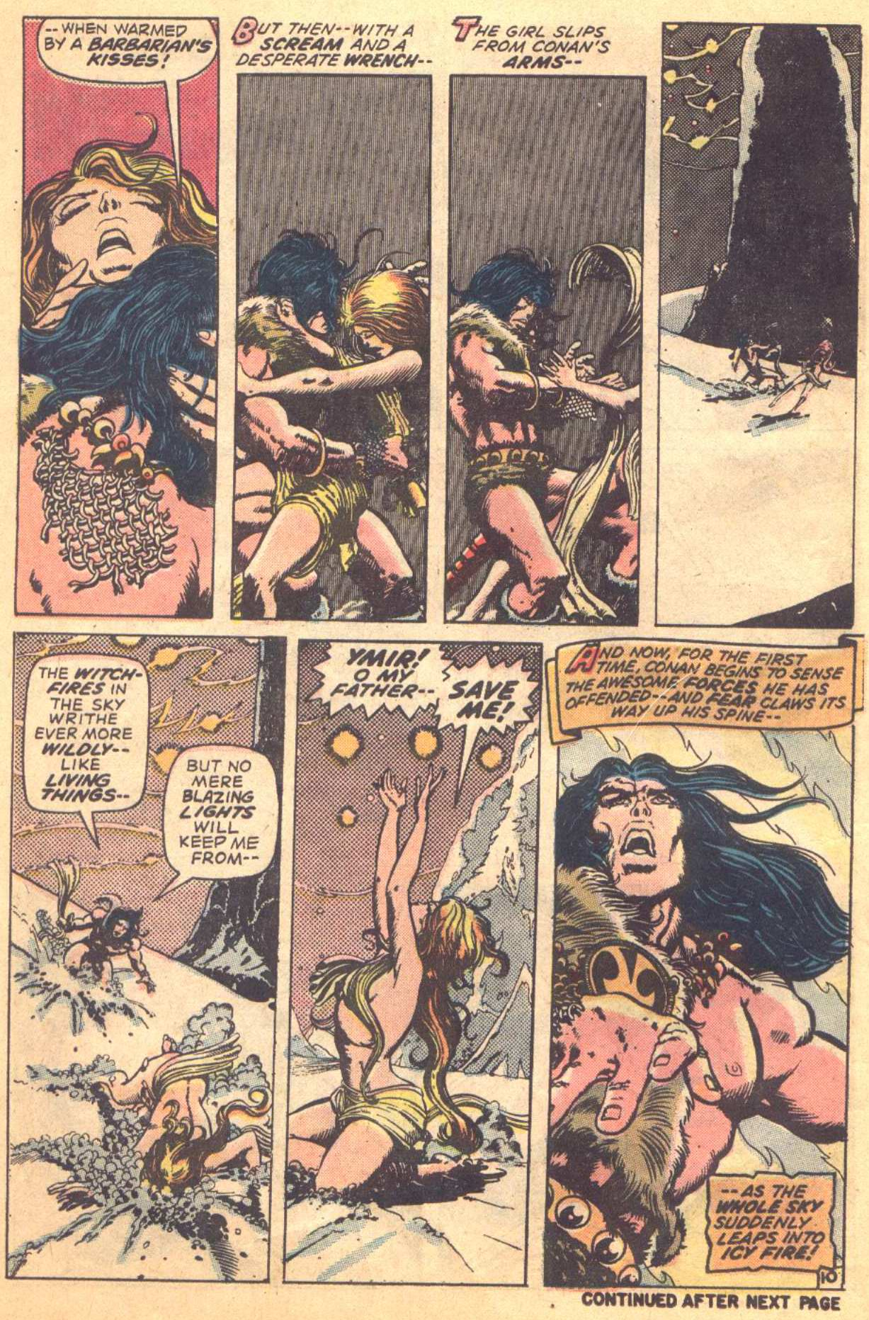 Conan the Barbarian (1970) Issue #16 #28 - English 10