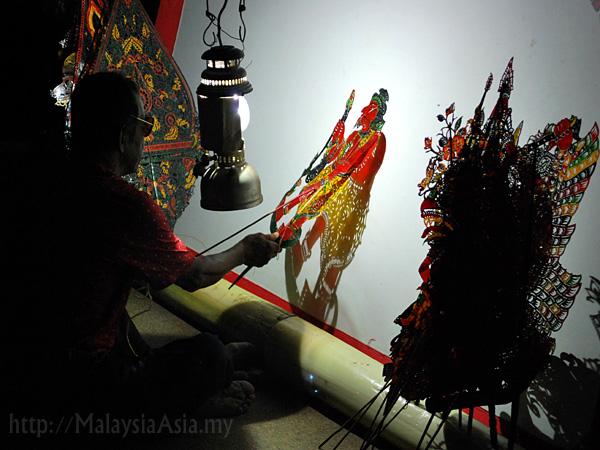 Wayang Kulit in Kelantan