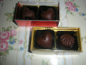 2 ps Pralin Coklat +  Box