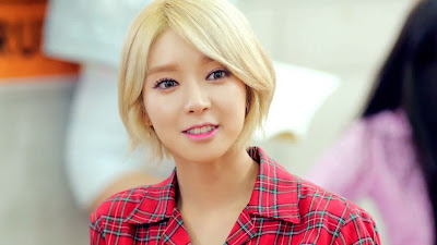AoA Choa in Heart Attack MV