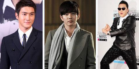 Deretan Artis Cowok Korea Paling Populer Tahun 2012