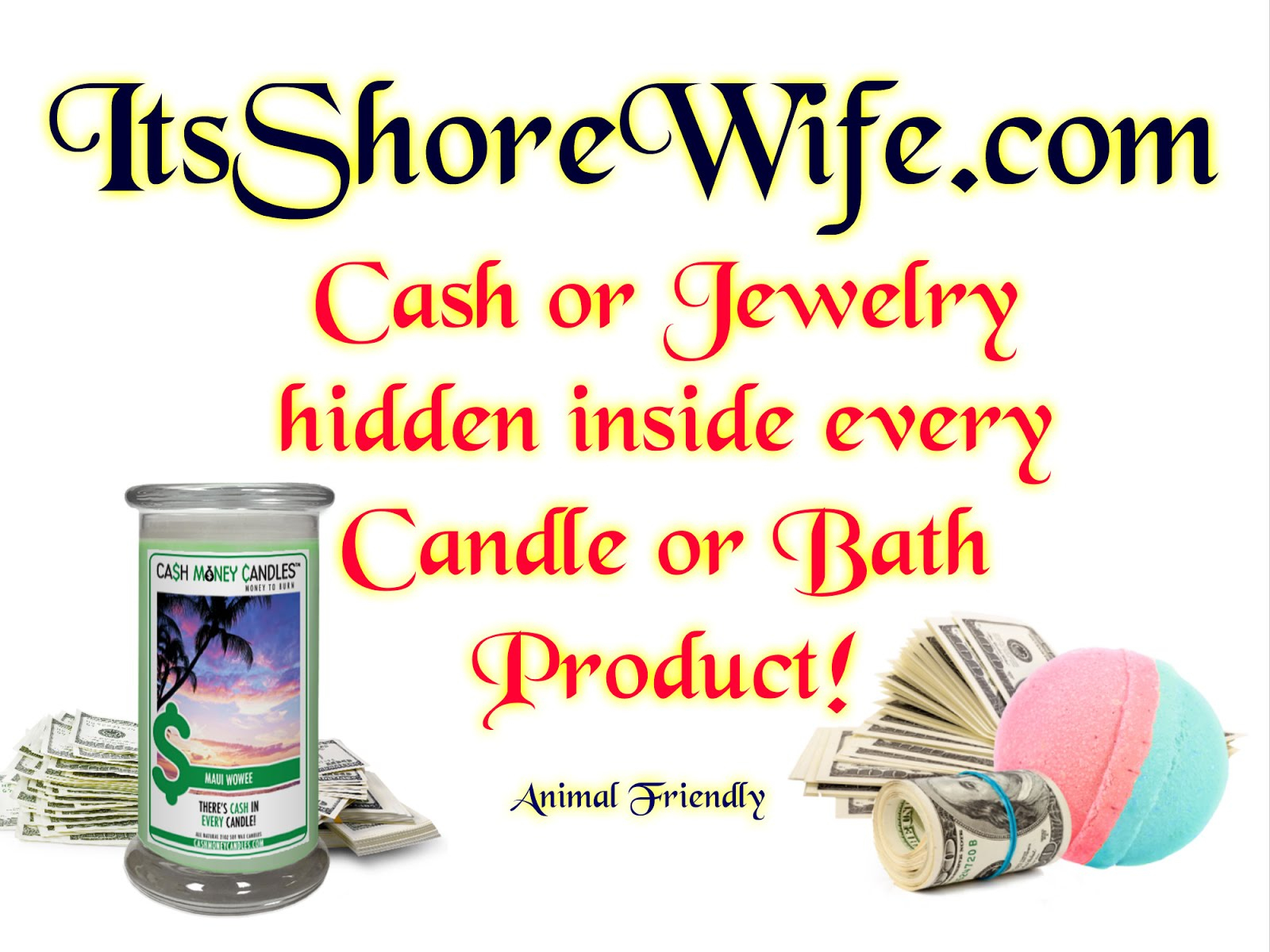 Cash or Jewelry Hidden in Each Product