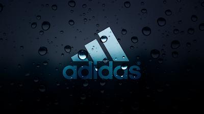 Adidas Water Drops Wallpaper