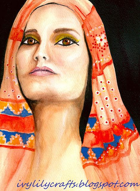 indian portrait painting