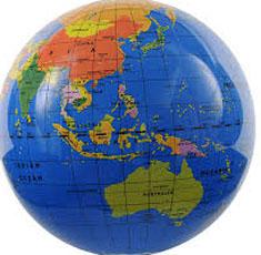 Daftar nama ibu kota negara dan kota kota penting lainnya di seluruh dunia