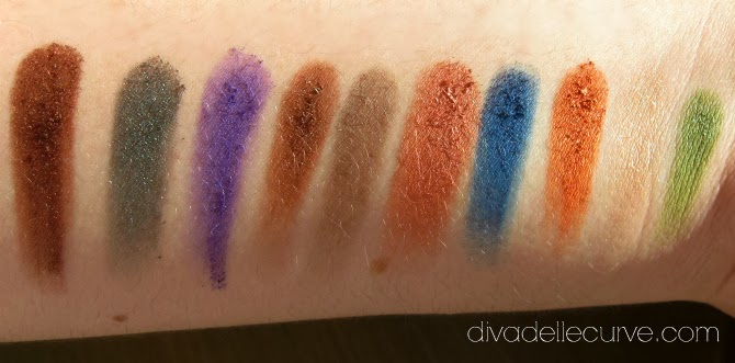 swatch palette makeup delight