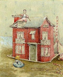 doll house Beatrix Potter