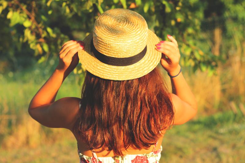 slomkowy kapelusz slomiany