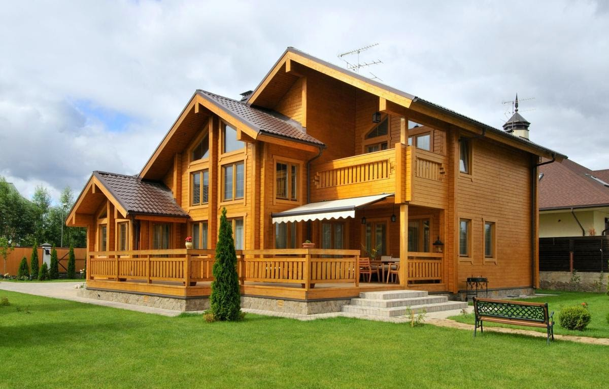 Виды деревянных домов и их преимущества