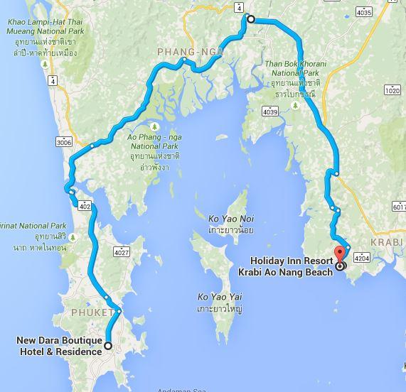 Day 7 Ao Nang Beach Krabi Southern Thailand Road Trip