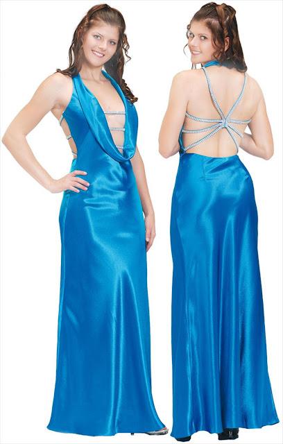 Abendkleider Online eleganten langen Satin Stretch