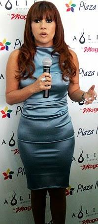 Magaly Medina con bella figura