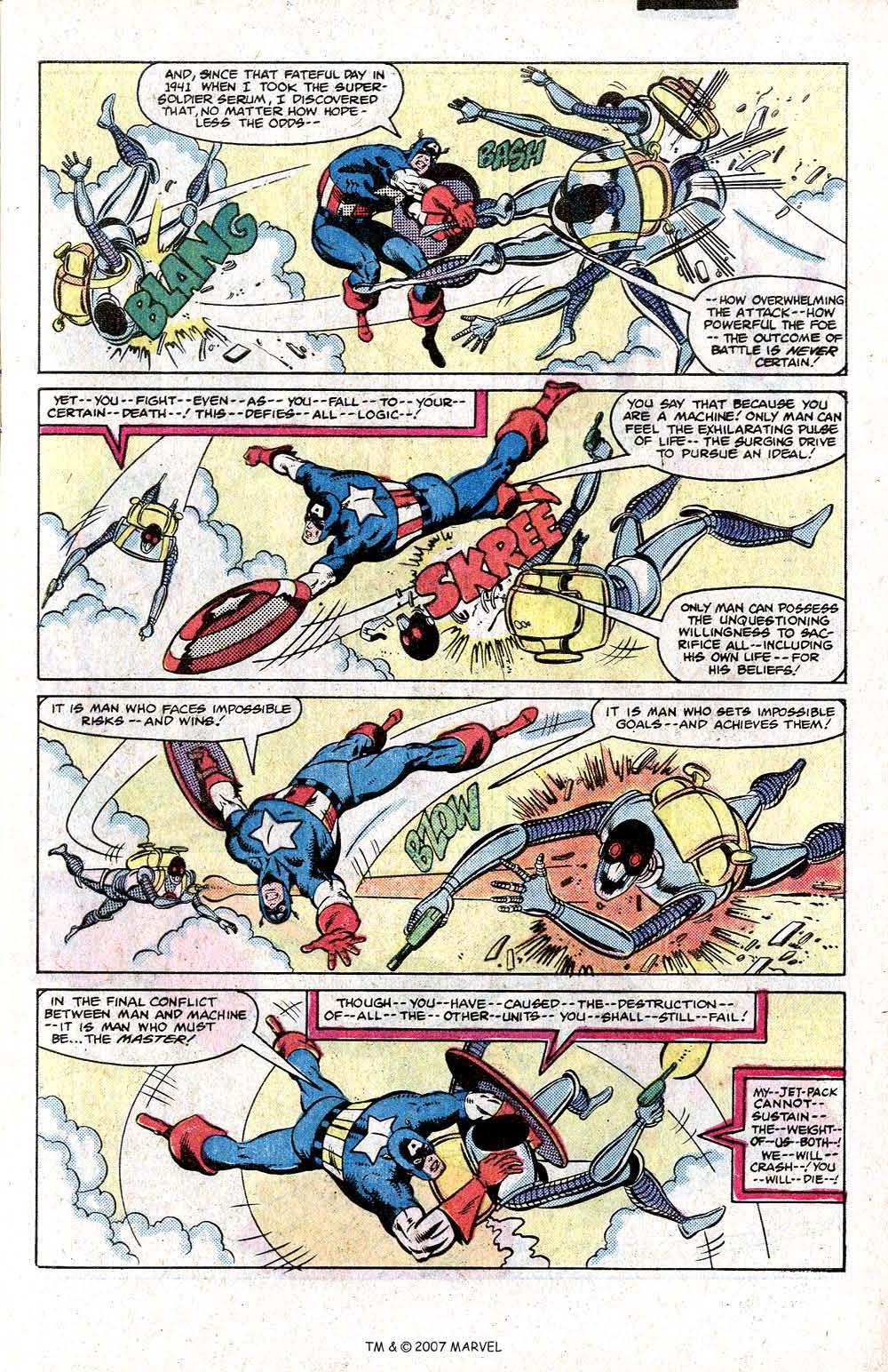Captain America (1968) Issue #266 #181 - English 9