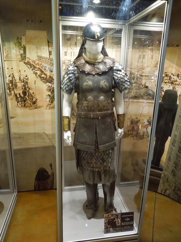 Christian Bale Exodus Gods and Kings Moses movie costume