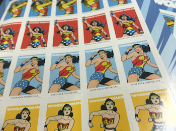 New Wonder Woman Stamps Available Now