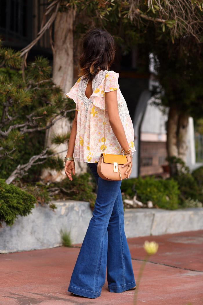 VivaLuxury flare jeans, Annabelle Fleur flare jeans,