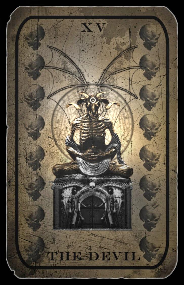 El espejo g tico ipes el demonio en el tarot - El espejo tarot gratis ...
