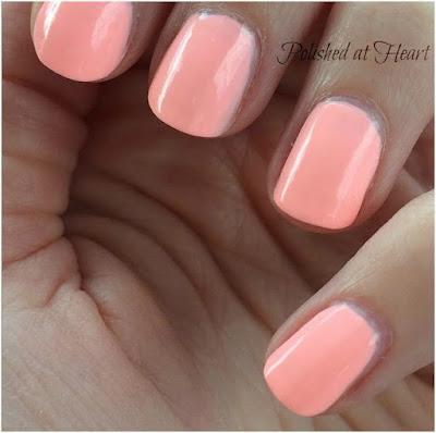 peach polish