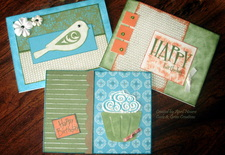 Curls and Grins Handmade Cards