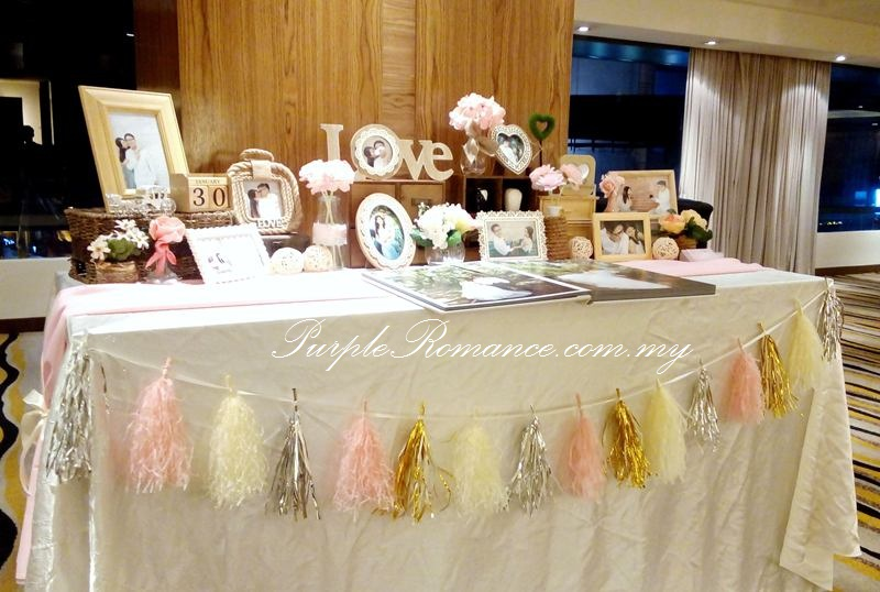 Pastel colour paper flower wedding decoration park royal kuala photo booth backdrop with giant paper flowers in pastel colours bunting logo angelababy to inquire on our wedding decoration junglespirit Gallery
