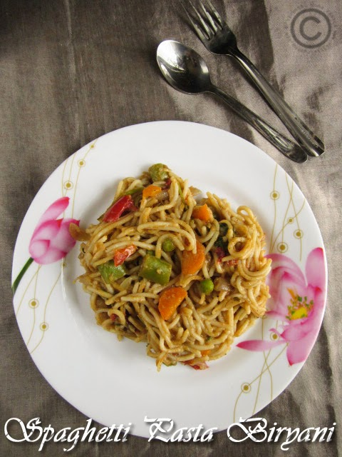 pasta-vegetable-biryani