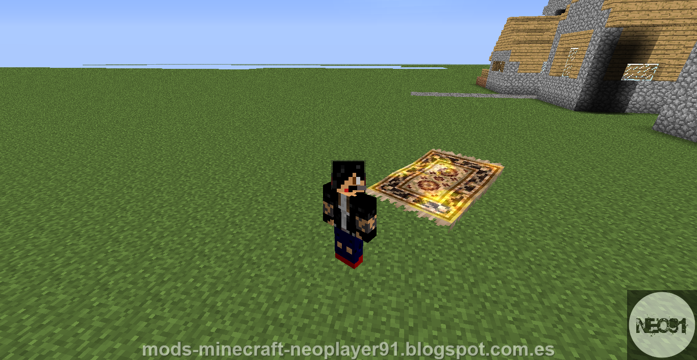 Magiccarpet Mod Para Minecraft 1 6 4 Mods Para Minecraft