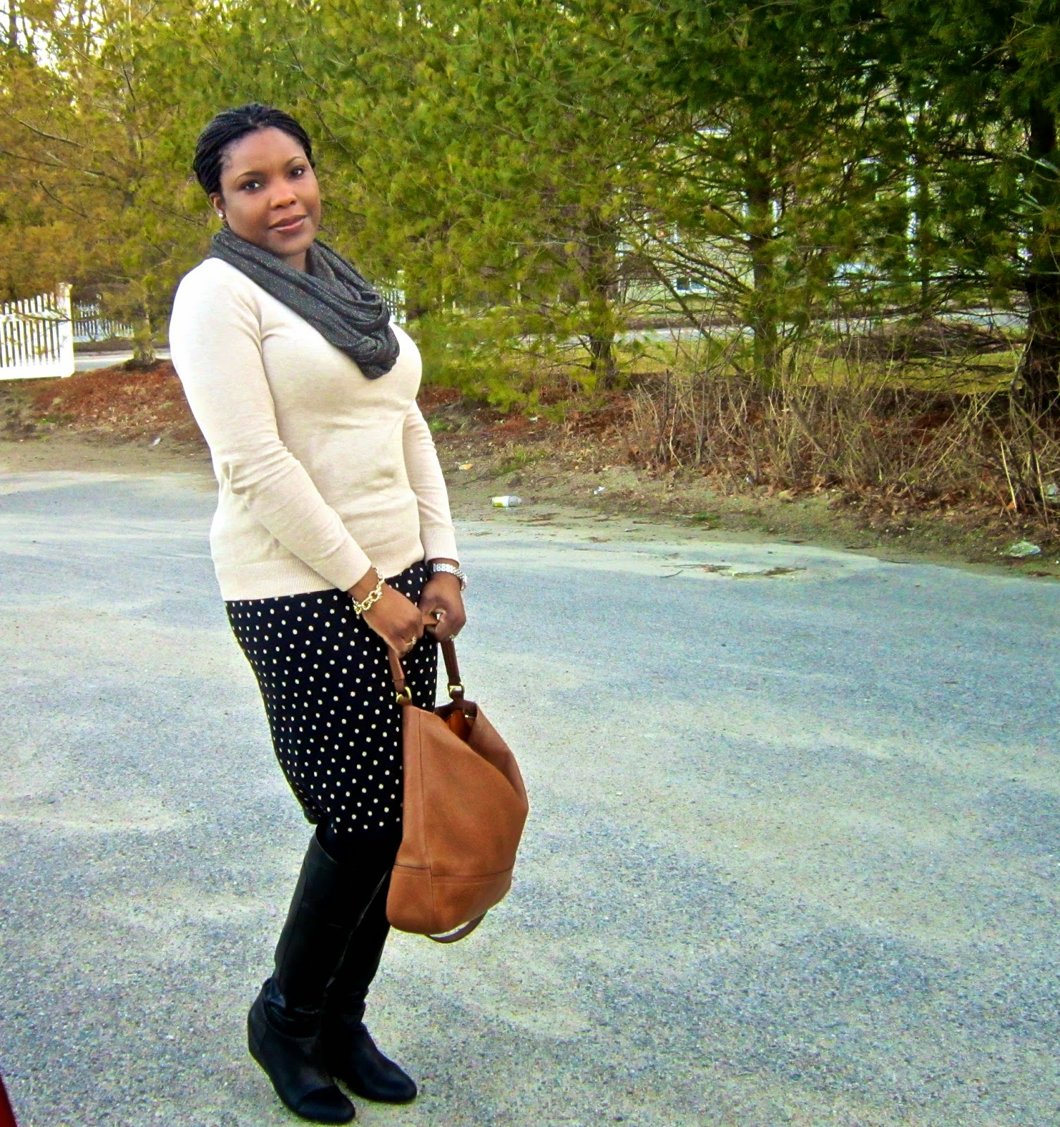 Outfit of the day, Spring style New England, sweater weather style, what i wore to work