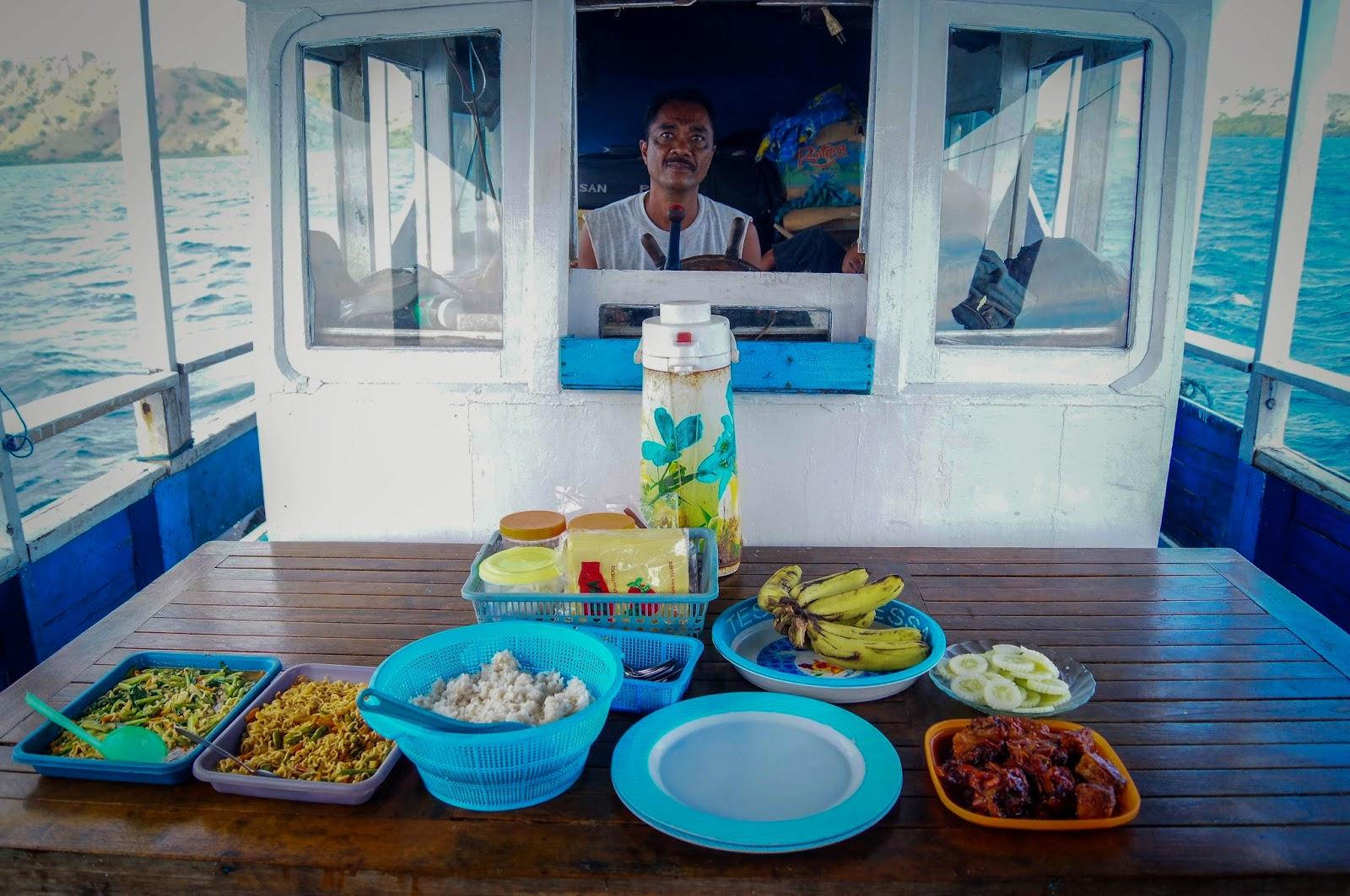 comida de la isla de Flores