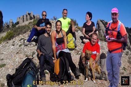 Circular al Montgros pel Camí de la Palomera