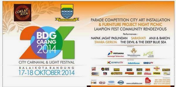 Bandung Caang Festival, Acar Puncak Hut Kota Bandung