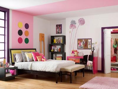 hermosa decoracion dormitorio jovencita