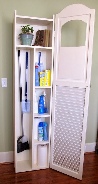 Cleaning Closet Entrancing Of Cleaning Supplies Storage Closet Image