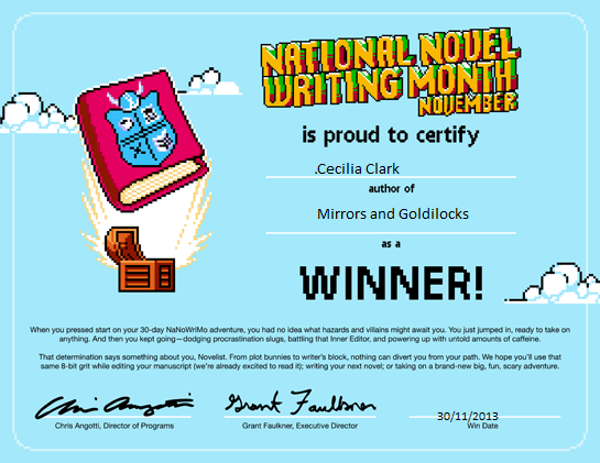 NaNoWriMo2013