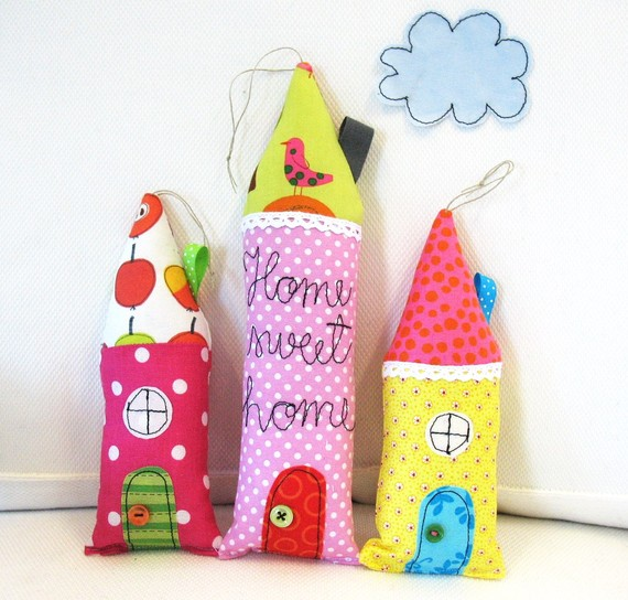 Urban home sweet home dulces mu ecos hechos a mano - Cojines infantiles originales ...